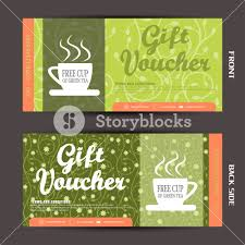 green gift voucher vector illustration blank of gift voucher vector illustration to increase the sales of