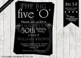 50th birthday invitation wording samples dolanpedia invitations