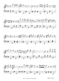 tattooed heart ariana grande stave preview 2 free piano sheet