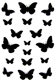 image small black butterfly designs pc android