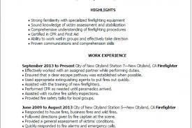 Firefighter Job Description For Resume by Firefighter Job Description For Resume Reentrycorps