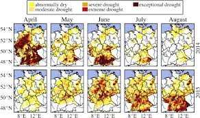 Us Drought Map The German Drought Monitor Iopscience