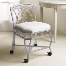 Contemporary Bedroom Vanity Bedroom Furniture Bedroom Silver Polished Iron Chair Having