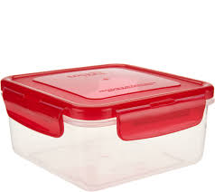 lock u0026 lock 8 piece square storage set page 1 u2014 qvc com