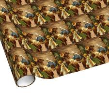 jesus wrapping paper vintage christmas religious nativity w baby jesus wrapping paper