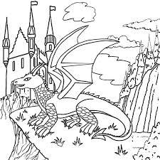 castle 105 buildings architecture u2013 printable coloring pages