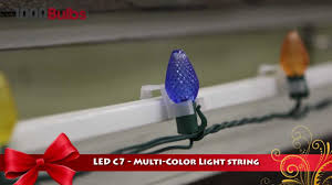 shl 1100116 led multi color c7 string light 25 faceted
