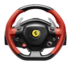 chrome ferrari 458 thrustmaster ferrari 458 spider racing wheel xbox one amazon co