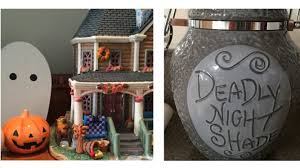 fall and halloween decorations tour youtube