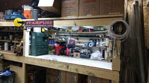 Bench Lighting Shop Update New Led Workbench Lights Youtube
