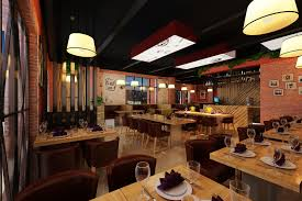 3d models modern restaurant cgtrader