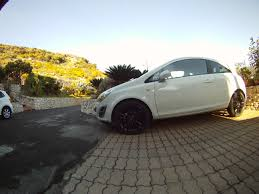 opel corsa opc white opel corsa restyling white from italy
