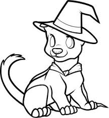 Dog Coloring Pages Halloween Coloring Pages With Dogs Cute Coloring Page Dogs