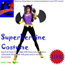 Batgirl Halloween Costume Accessories Marketplace Heroes Costume Dark Dame
