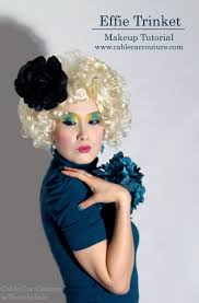 Hunger Games Halloween Costumes Hunger Games U0027 Effie Trinket Halloween Costume Makeup Tutorial