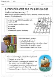 history and literacy lesson springboard stories