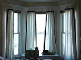 interesting bay window curtain ideas best house design image of curtain styles for bay window