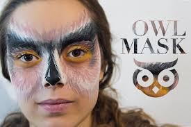 owl makeup face mugeek vidalondon