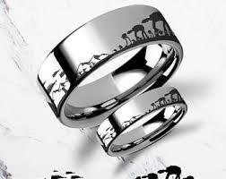 wars wedding rings wars engagement ring etsy