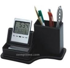 Executive Desk Organizer Executive Desk Organizer With Multi Function Clock China Wholesale