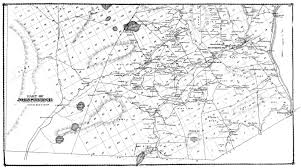 United States Map Black And White Tracing Northern Warren County U0027s Earliest Roads The Adirondack