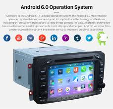 2 din 100 android 6 0 1998 2006 mercedes benz g class w463 g550