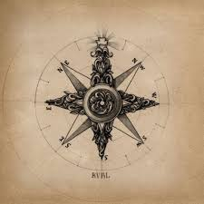 compass elbow tattoo design photos pictures and sketches