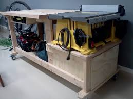Workbench Designs For Garage Table Saw Workbench Tools Pinterest