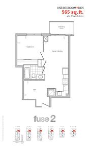 One Bloor Floor Plans by Fuse 2 Condos Toronto