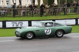 classic aston martin cars motorsport and smiths history at goodwood revival 2017