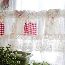 Country Lace Curtains Catalog Rose Curtain