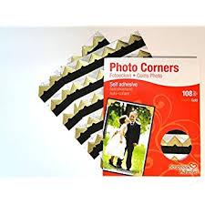 Acid Free Photo Album Gold Colour Photo Corners Self Adhesive Sticky Acid Free Album
