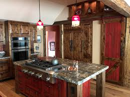 Custom Cabinets Complete Kitchens U0026 More U2013 Custom Cabinets Barn Doors Kitchen