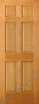Six Panel Closet Doors Oak Doors Oak Interior Doors Solid Oak Doors