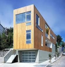 small contemporary house plans modern narrow house plans house in narrow lot modern infill house