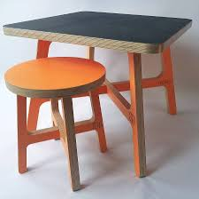 childrens table and stools child s chalkboard table and stool by soap designs