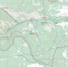 Philmont Scout Ranch Map Carson Meadows Camp