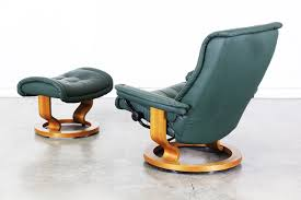 admirable leather reclining chair with ottoman for your famous