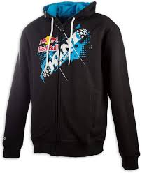 cheap motocross gear kini red bull ribbon casual clothing hoodies pullover blue