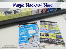 Blackout Temporary Blinds Magic Blackout Blind Review Youtube