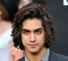 medium length hairstyles for men with thick hair thick hair