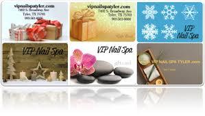spa gift cards vip nail spa in tx