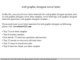 graphic designer cover letter for resume web graphic designer cover letter