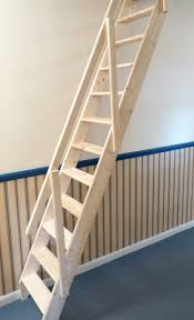Wood Handrail Kits Inspiring Space Saving Loft Staircase With Ladder Staircase