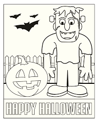 free printable halloween coloring pages and activities best