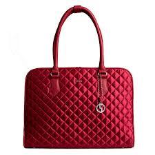 designer laptoptasche socha business handtasche 43 cm rot
