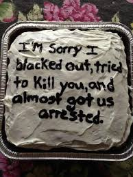 29 incredibly specific apology cakes