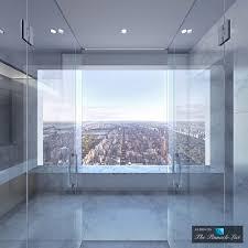bathroom vanities nyc luxury penthouse ph92 432 park avenue new york ny condo via
