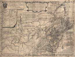 Map Of New England Colonies by Fry And Jefferson Revisited The Mesda Journal