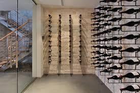 powerful contemporary wine cellar room design interior decorated